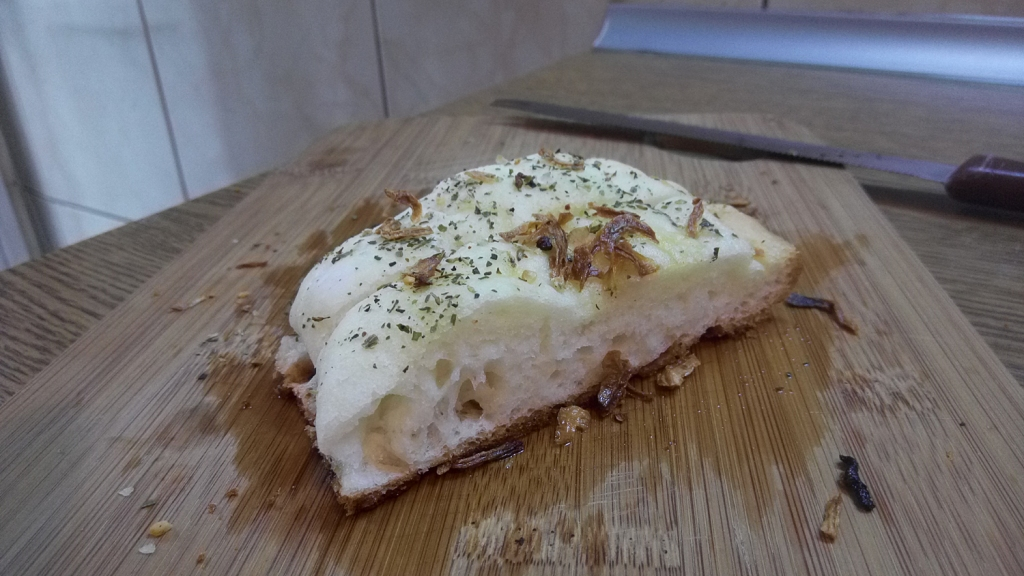 Tasty homemade breadsticks, with great fluffy texture